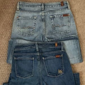 7 for All Mankind Girls Jeans!